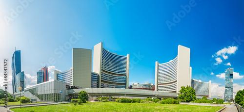 Fotografie, Obraz  skyline, vien