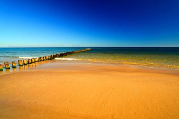 Panel Szklany Podświetlane Do pokoju Baltic sea.