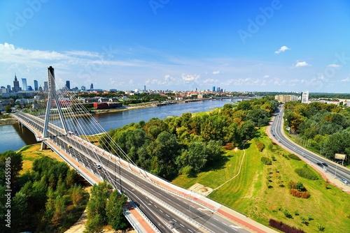 Fototapeta Warsaw. obraz