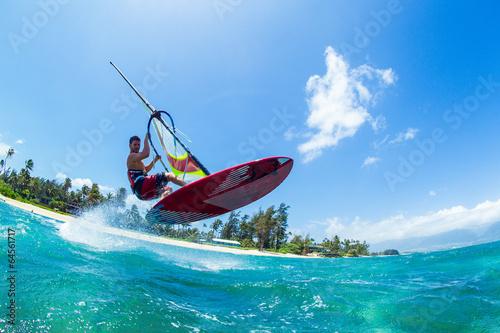 obraz PCV Windsurfing