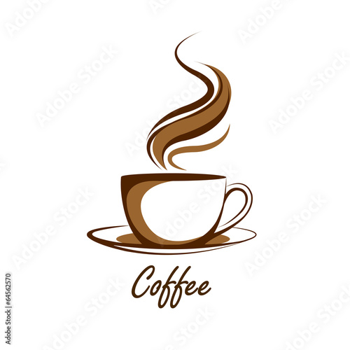 Carta da parati coffee cup vector,illustration