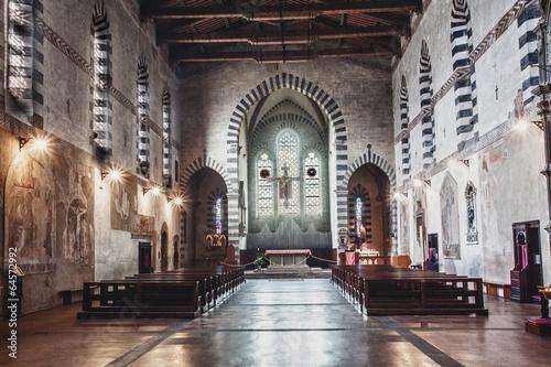 arezzo chiesa di san domenico cristo cimabue Wallpaper Mural
