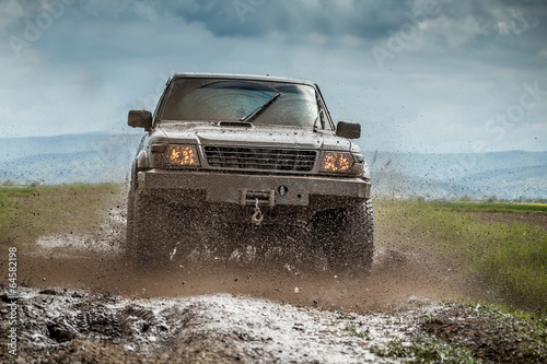 Muddy jeep #64582198