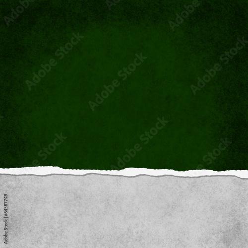 Photo  Square Dark Green Grunge Torn Textured Background