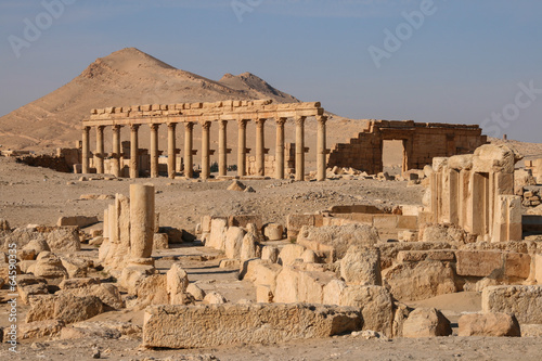 Photo ruins of palmyra