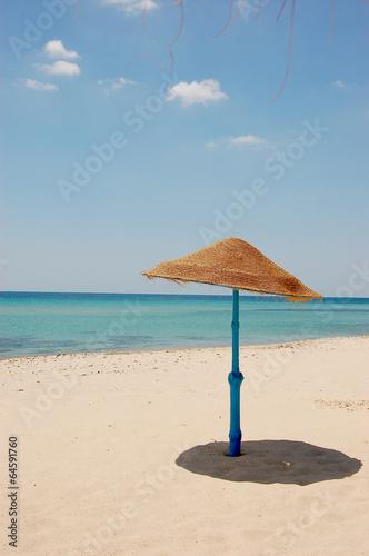 Staande foto Tunesië Summertime tourist district in Tunisia