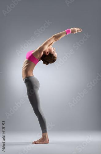 Fotografia  the yoga woman