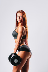 Fototapeta fitness woman