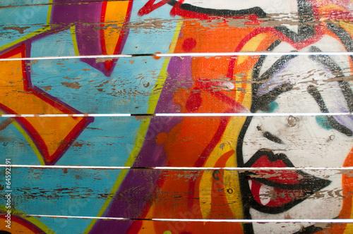 Canvas Prints Graffiti collage Graffiti