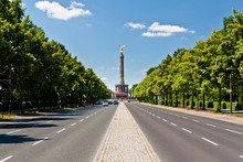 A Road To The Victory Column, Berlin