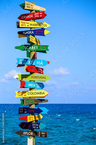Fotografía  Funny direction signpost