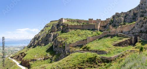 Valokuva  Acrocorinth fortress, Peloponnese, Greece