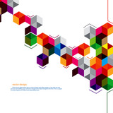 polygon abstract design