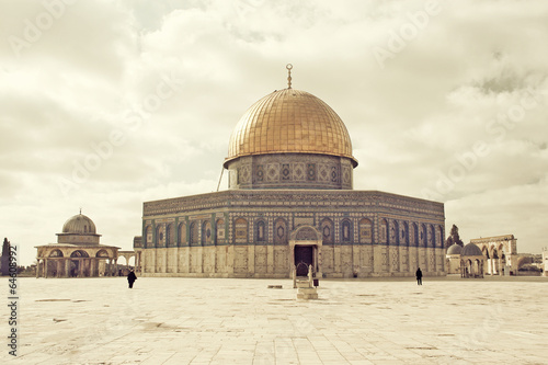 Fotobehang Midden Oosten Dome of the Rock in Jerusalem