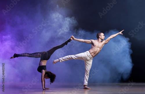 obraz PCV Taniec współczesny