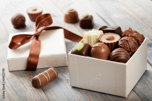 Fotomural Chocolates