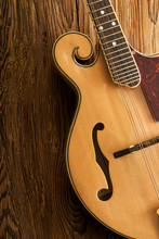 Traditional Mandolin Close Up