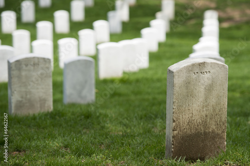 Foto op Canvas Begraafplaats arlington cemetery graveyard
