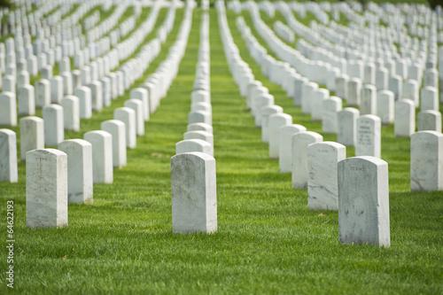 Ingelijste posters Begraafplaats arlington cemetery graveyard