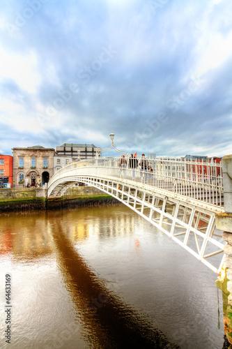 Photo  Dublin, Ha'Penny Bridge HDR