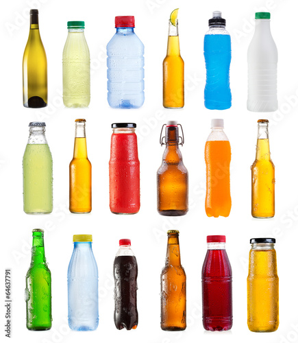 set of various bottles #64637791