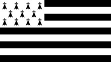 Flag Of Brittany - Vector Grap...