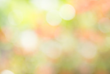 Image Of A Bright Colorful Bokeh Background