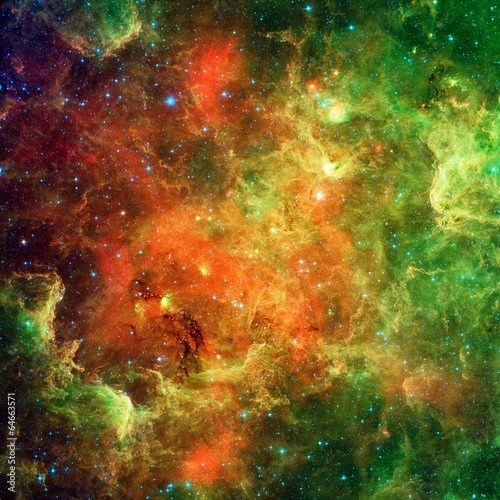 Obraz na plátne North American Nebula and Pelican nebula
