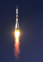 "Carrier Rocket ""Soyuz-FG"" Launch"