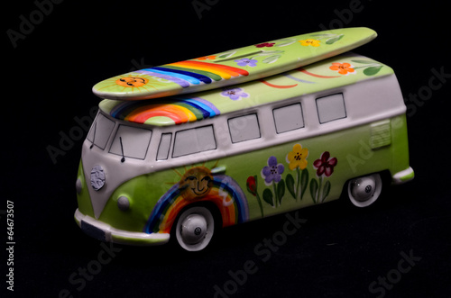 Fotografia  Happy Hippie Bus