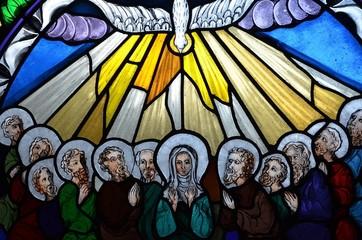 Obraz na Plexi Zesłanie Ducha Świętego