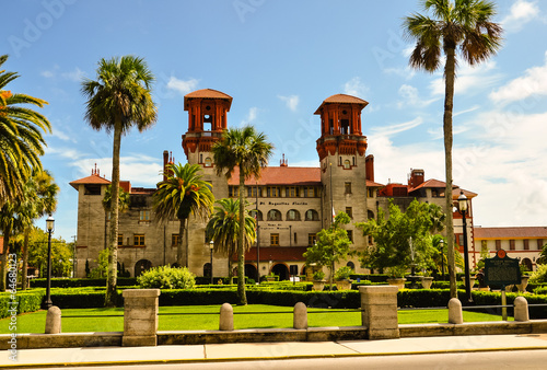 st. augustine city hall Canvas Print