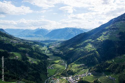 Foto op Plexiglas Turkoois Passeiertal, Südtirol, Italien