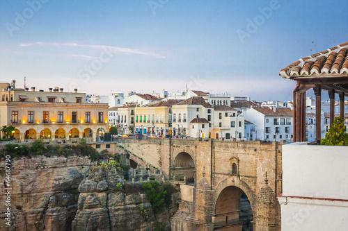 Obrazy na płótnie Canvas The village of Ronda in Andalusia, Spain.