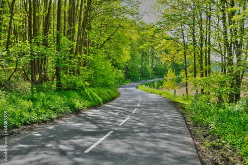 Foto op Plexiglas Groene France, the picturesque village of Wy dit Joli Village