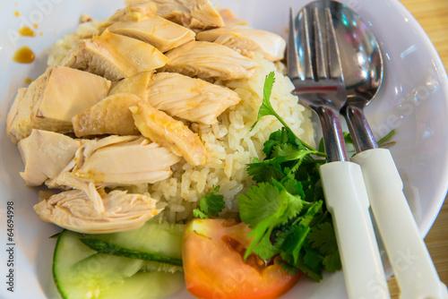 Photo  Hainanese Chicken Rice