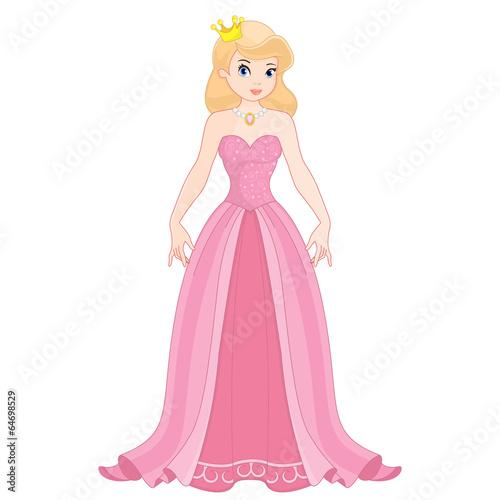 Fotografie, Obraz  Blonde princess