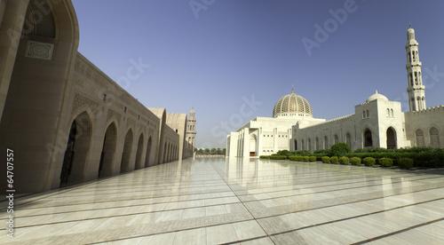 Fotobehang Midden Oosten Qaboos Grand Mosque in Muscat, Oman