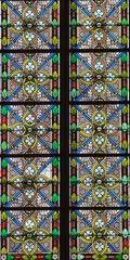 Obraz na Szkle stained-glass window