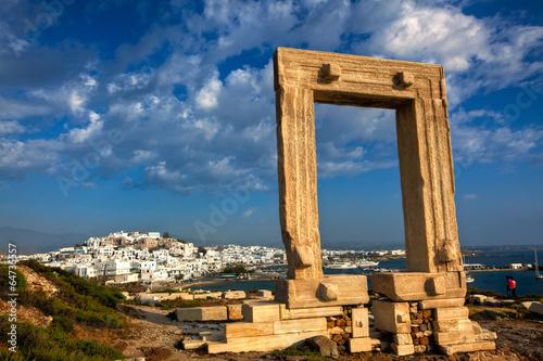 Poster Ruine Portara - Naxos, Greece