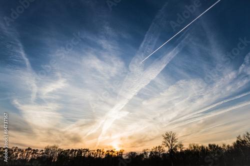 Fotografie, Obraz  artificial clouds
