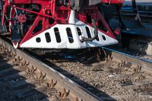 Details Retro Steam Locomotive