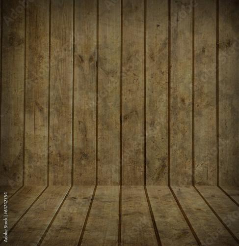 Garden Poster Wood wood wall