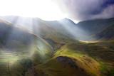 Rompimiento de gloria en alta montaña