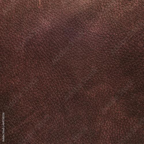 Garden Poster Leder Brown leather