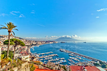 View Of Naples From Posillipo ...