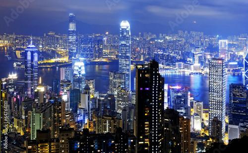 Hong-Kong hongkong night