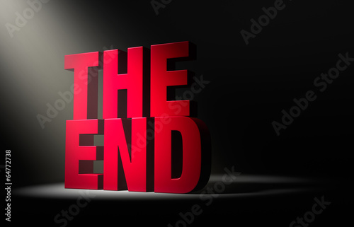 The End, Revealed Fototapet