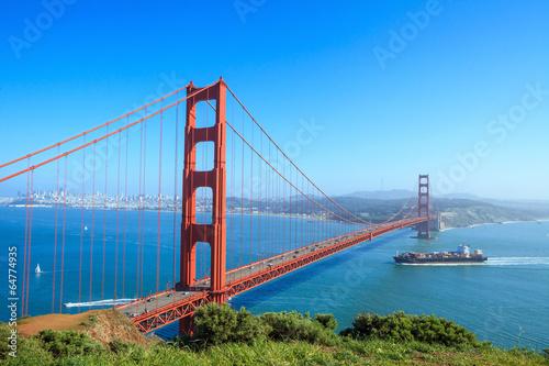 Plakat Golden Gate Bridge in San Francisco