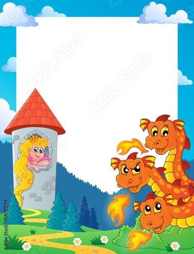 Poster Pony Fairy tale theme frame 5